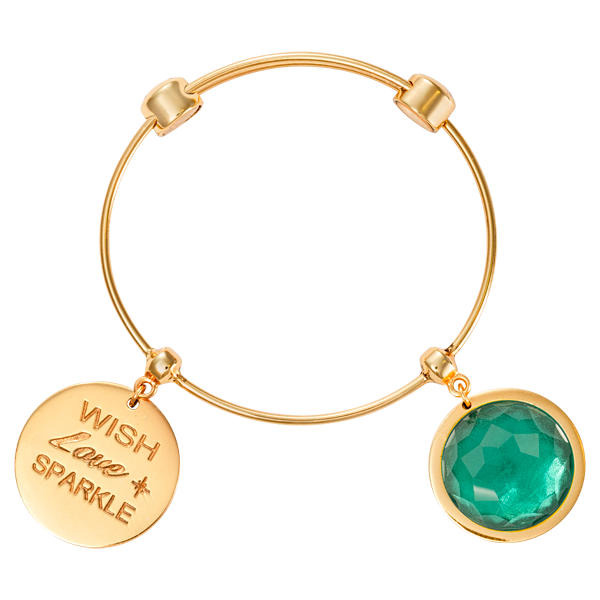 Nikki Lissoni Armreif B1079G19 - Good vibes - Charm Bangle