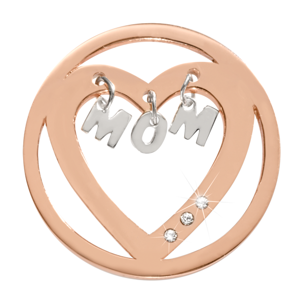 Nikki Lissoni Coin C1520RGM - MOM - I love you - Medium