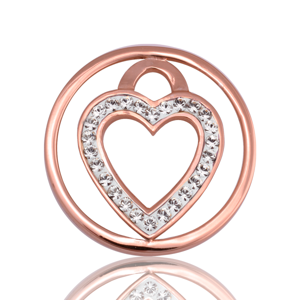 Nikki Lissoni Coin C1039RGS03 - Love Keeper - Small