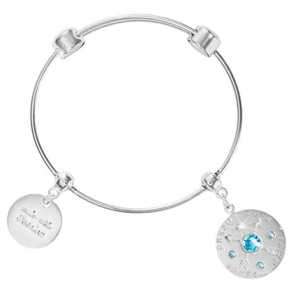 Nikki Lissoni Armreif B1089S19 - Good vibes - Charm Bangle