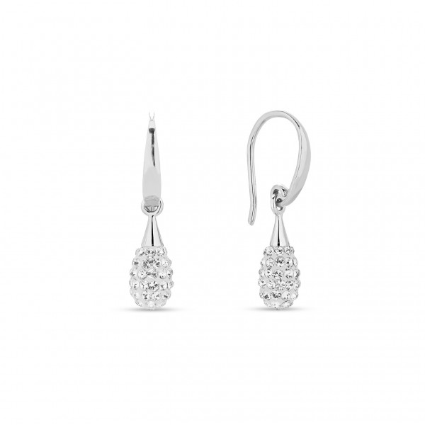 Spark Silver Jewelry Pave Drop Ohrschmuck Crystal