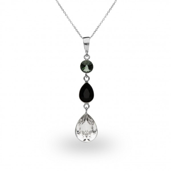 Spark Silver Jewelry Sweet Tears Collier Crystal