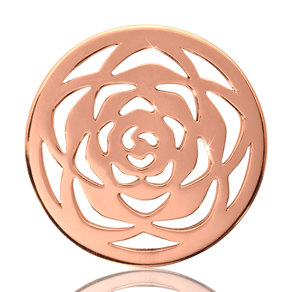 Nikki Lissoni Coin C1118RGM - Rose Large - Medium