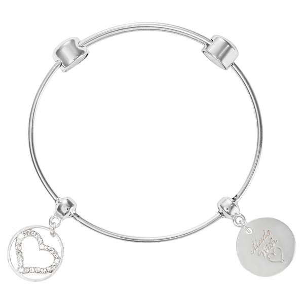 Nikki Lissoni Armreif B1083S19 - Good vibes - Charm Bangle